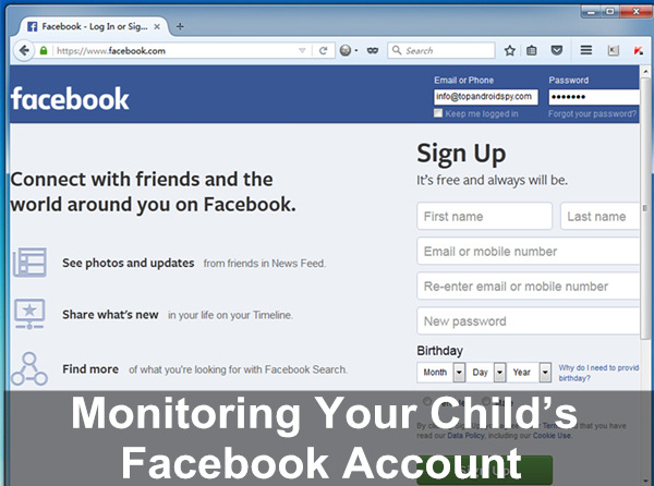 Child Facebook Monitoring