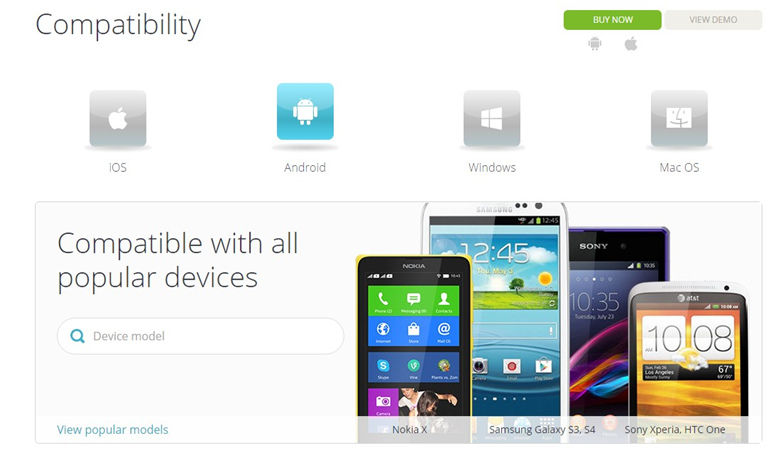 mspy compatibility page